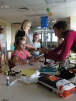 Zajęcia plastyczne w Centrum Zdrowia Dziecka