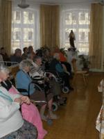 Spotkanie z mieszkańcami Domu Pomocy Społecznej