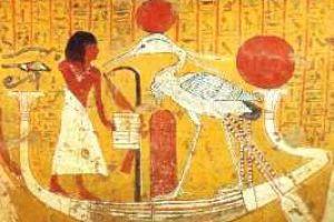 Benu (Bennu) w mitologii egipskiej