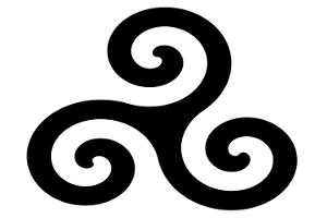 Celtycki Triskelion
