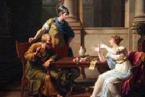 Mądry mąż Sokrates