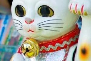 Japońska figurka kota Maneki-neko